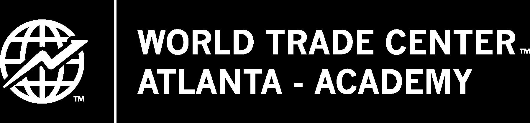 WTC Academy Logo White